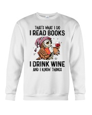 That's what I do I read books Crewneck Sweatshirt thumbnail