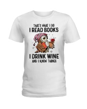 That's what I do I read books Ladies T-Shirt thumbnail
