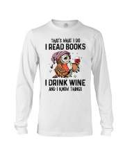 That's what I do I read books Long Sleeve Tee thumbnail