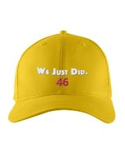 we just did Embroidered Hat front