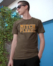 mitch please Classic T-Shirt apparel-classic-tshirt-lifestyle-17