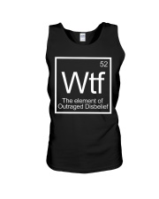 WTF - The Element of Outraged Disbelief T-Shirt Unisex Tank thumbnail