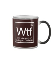WTF - The Element of Outraged Disbelief T-Shirt Color Changing Mug thumbnail