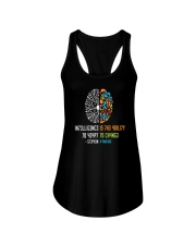 Intelligence Is Ability To Adapt To Change T Shirt Ladies Flowy Tank thumbnail