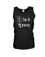 Funny I Am A Pi Rate T-shirt Unisex Tank thumbnail