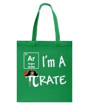 Funny I Am A Pi Rate T-shirt Tote Bag thumbnail
