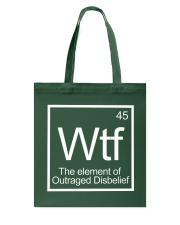 WTF 45 Shirt Tote Bag thumbnail