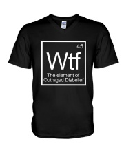 WTF 45 Shirt V-Neck T-Shirt thumbnail