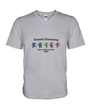 Grateful Distancing V-Neck T-Shirt thumbnail