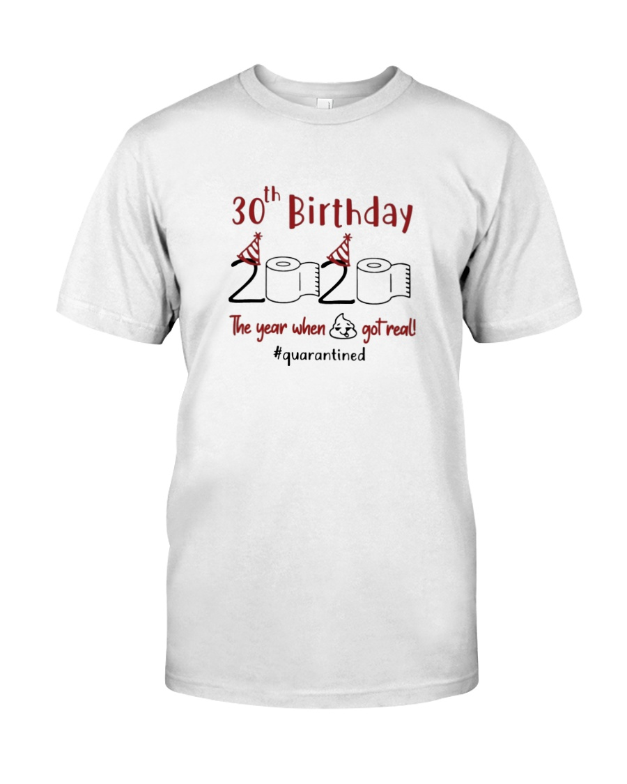 Year 30Th Birthday  Classic T-Shirt