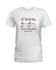 Year 30Th Birthday  Ladies T-Shirt thumbnail