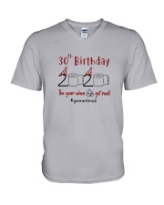 Year 30Th Birthday  V-Neck T-Shirt thumbnail