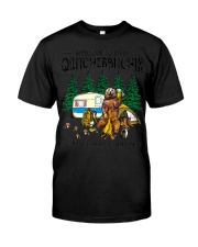 Welcome To Camp Quitcherbitchin A Certifie Classic T-Shirt front
