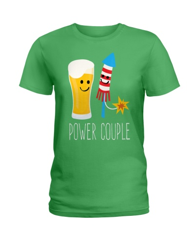 Beer and Fireworks - Power Couple - 4th of