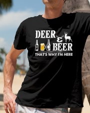 I LOVE DEER AND BEER Classic T-Shirt lifestyle-mens-crewneck-front-11