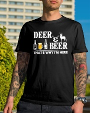 I LOVE DEER AND BEER Classic T-Shirt lifestyle-mens-crewneck-front-8
