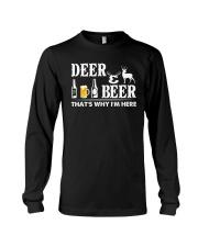I LOVE DEER AND BEER Long Sleeve Tee thumbnail