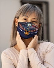 To Dad Eagle US Navy Veteran Cloth face mask aos-face-mask-lifestyle-17