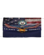 To Dad Eagle US Navy Veteran Cloth face mask front