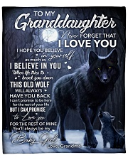 """Never forget that I Love You - GM to GD Fleece Blanket - 50"""" x 60"""" front"""