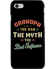 Grandpa The Man The Myth The Bad Influence Phone Case thumbnail