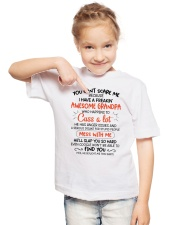 I Have A Freakin' Awesome Grandpa Youth T-Shirt lifestyle-youth-tshirt-front-2