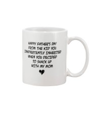 Happy Fathers Day From The Kid Mug front