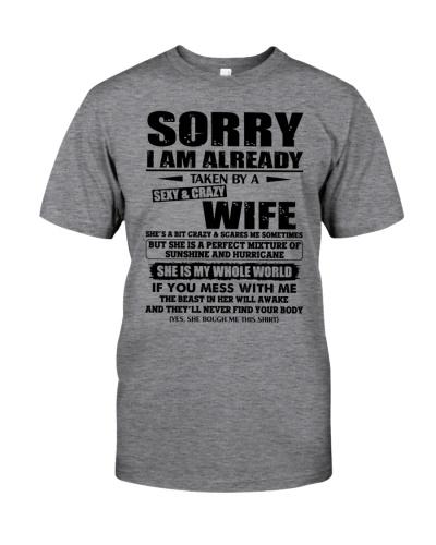I'm Already Taken By A Sexy Crazy Wife