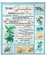 "Never Forget That I Love U-Turtle- GP-To-Grandson Fleece Blanket - 50"" x 60"" front"