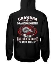 Grandpa And Granddaughter Best Partner In Crime Hooded Sweatshirt thumbnail