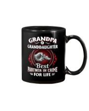 Grandpa And Granddaughter Best Partner In Crime Mug thumbnail