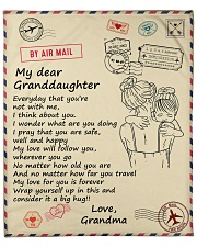 """Granddaughter My Love For You Is Forever Fleece Blanket - 50"""" x 60"""" front"""