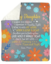 I Hugged This Blanket Squeezed Tight-To Daughter Sherpa Fleece Blanket tile