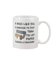 Boss Like U Harder To Find Mug front