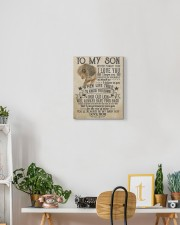Never Forget That I Love You Lion Mom To Son 11x14 Gallery Wrapped Canvas Prints aos-canvas-pgw-11x14-lifestyle-front-03