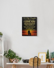 Daughter Never Forget That I Love You 11x14 Gallery Wrapped Canvas Prints aos-canvas-pgw-11x14-lifestyle-front-03