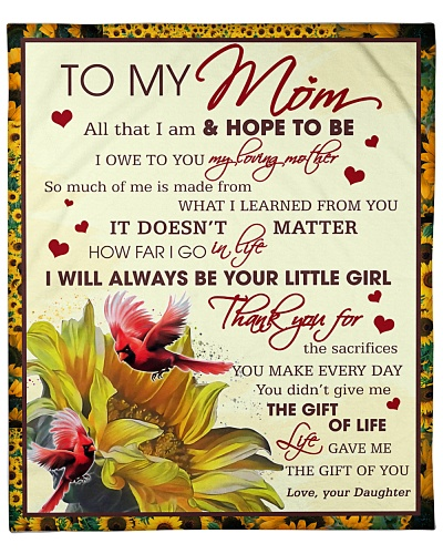 To Mom Thanks For The Sacrifices U Make Every Day