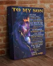 Never Forget That I Love You Lion Mom To Son 11x14 Gallery Wrapped Canvas Prints aos-canvas-pgw-11x14-lifestyle-front-09