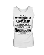 I Am Lucky Daughter I Have A Crazy Mom Unisex Tank thumbnail