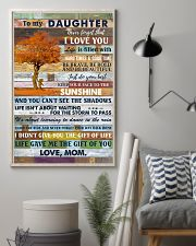 To My Daughter Never Forget That I Love You 11x17 Poster lifestyle-poster-1