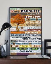 To My Daughter Never Forget That I Love You 11x17 Poster lifestyle-poster-2