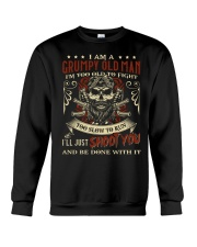 I Am Grumpy Old Man I'm Too Old To Fight Crewneck Sweatshirt thumbnail