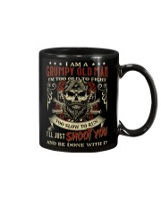 I Am Grumpy Old Man I'm Too Old To Fight Mug front