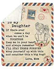 """If there ever comes a day Mom To Daughter Sherpa Fleece Blanket - 50"""" x 60"""" thumbnail"""