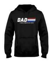 Dad A Real American Hero Hooded Sweatshirt thumbnail