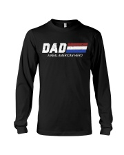 Dad A Real American Hero Long Sleeve Tee thumbnail