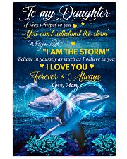 Daughter Dolphin Whisper Back I Am The Storm 11x17 Poster front