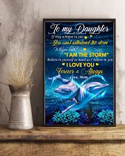 Daughter Dolphin Whisper Back I Am The Storm 11x17 Poster lifestyle-poster-3