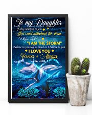 Daughter Dolphin Whisper Back I Am The Storm 11x17 Poster lifestyle-poster-8