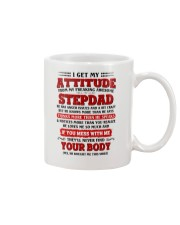 I Get My Attitude From My Freaking Awesome Stepdad Mug thumbnail